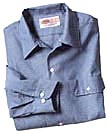 CHAMBRAY LS SHIRTS